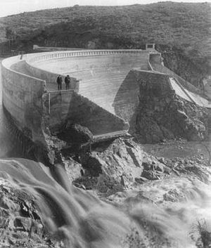 Sweetwater Dam - The Sweetwater dam collapse of 1916