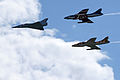 Swiss Air Force Hunter and Mirage III-DS in formation.jpg