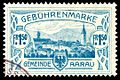 Switzerland Aarau 1908 revenue 1.50Fr - 22c.jpg