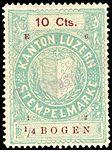 Switzerland Lucerne 1912 revenue 6 10c - 138 - E 6 12.jpg