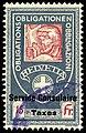 Switzerland federal consular revenue 1915 15Fr - 7.jpg