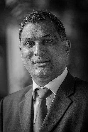 European Parliament election, 2014 - Image: Syed Kamall par Claude Truong Ngoc février 2015