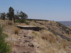 Syrian fortification at Skopya in the Golan Heights (10).JPG