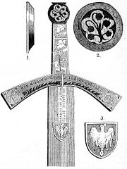Obverse of the hilt