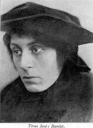 Jenő Törzs - Jenő Törzs as Hamlet.
