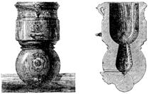 T3- d395 - Fig. 277 et 278. — Mortier de l'artillerie de Louis XIV (système de Vallière).png