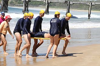 The Armidale School - TAS students undertake Surf Life Saving qualifications in conjunction with Sawtell Surf Life Saving Club.