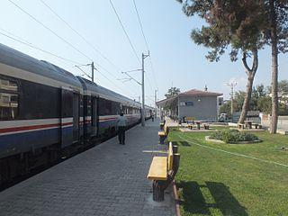 Tepeköy railway station railway station in İzmir