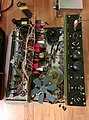 TEAC A-6010 tape recorder with AR-60 amplifier, disassembled (16699546960).jpg