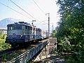 TER Annecy-Lyon traversant le Thiou à son départ (2007).JPG