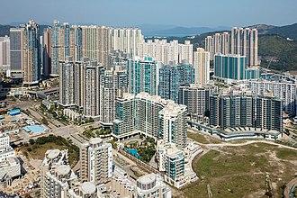 Tseung Kwan O South - Aerial view of Tseung Kwan O South