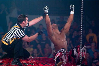 Jay Lethal - Lethal after winning the Steel Asylum at Bound for Glory IV