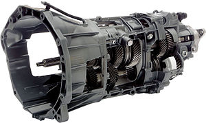 Tremec TR-3160 transmission - Cut-away view of the TREMEC TR-3160 transmission
