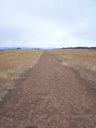 Upper and Lower Table Rock - The airstrip on Lower Table Rock