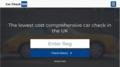 Tablet screenshot of Car Check 123 service.png
