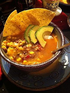 Taco soup Type of soup