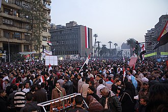 2012–13 Egyptian protests - Tahrir Square on 25 January