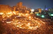 ميدان التحرير في قلب القاهرة يوم 8 فبراير