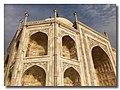 Taj Mahal's East Upper Facade.jpg