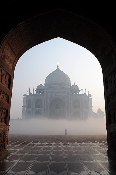 Taj Mahal - one of the 9 best places in the world to celebrate love