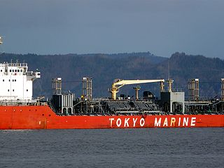 Chemical tanker type of tanker ship designed to transport chemicals in bulk