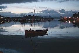 Tarbert Quay at First Light. - geograph.org.uk - 472971.jpg