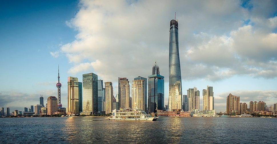 Tarde en Shanghai — at The Bund 外滩. (15730639211)