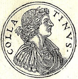 Lucius Tarquinius Collatinus - Tarquinius Collatinus from Guillaume Rouillé's Promptuarii Iconum Insigniorum