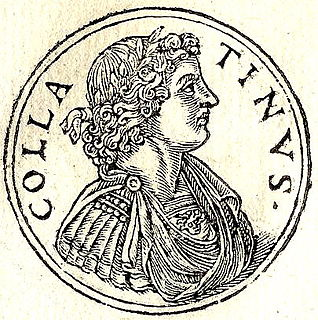 Lucius Tarquinius Collatinus leader of revolution overthrowing Roman monarchy and one of the first consuls of the Roman Republic in 509 BC