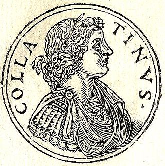 Lucius Tarquinius Collatinus - Tarquinius Collatinus from uinius Collatinus from Guillaume Rouillé's Promptuarii Iconum Insigniorum