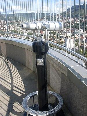 Telescope on Avaz Twist Tower