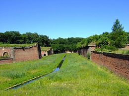 Terezin CZ main moat next to Litomerice Gate Ater1.jpg
