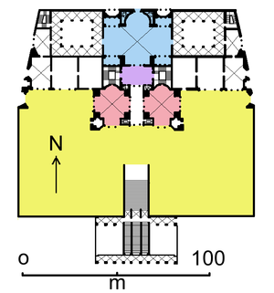 Baths of Titus - Plan of the Baths of Titus