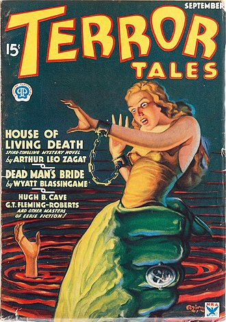 Horror fiction magazine - Image: Terror Tales September 1934