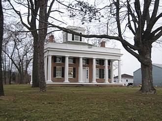 Terwilliger House - Terwilliger House in Bull Valley, Illinois, near the McHenry County seat of Woodstock.