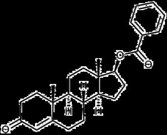 Testosterone benzoate - Image: Testosterone benzoate