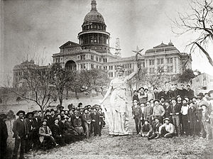 Texas capitol goddess 1888