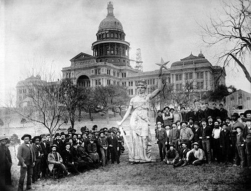 Texas capitol goddess 1888