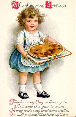 Thanksgiving postcard circa 1910