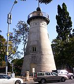 The Windmill in Wickham Park in Brisbane. Built by convicts in 1828, it is one of the oldest buildings in Brisbane with the Old Commissariat Store on William Street.