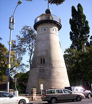 Brisbane - The Old Windmill in Wickham Park, built by convicts in 1828