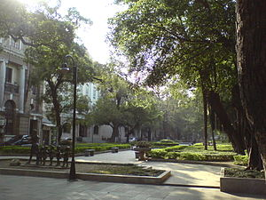 The Amazing Race 24 - Teams ended the second leg in Guangzhou at Shamian Island, the island which hosts several colonial European buildings.