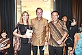 The Ambassador of Netherland Rob Swartbol & Tirta BambangWirawan from the House Of Represenative.jpg