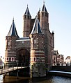 The Amsterdamse poort (Gate) at Haarlem. Outerside from the North-East - panoramio.jpg
