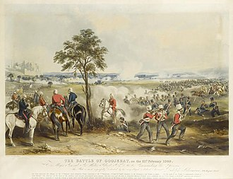 Second Anglo-Sikh War - The Battle of Gujrat, the most decisive battle of the second Anglo-Sikh war