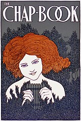 The Chap-Book No. 5, the pipes, advertising poster, 1895