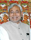 The Chief Minister of Bihar, Shri Nitish Kumar meeting with the Deputy Chairman, Planning Commission, Shri Montek Singh Ahluwalia to finalize Annual Plan 2007-08 of the State, in New Delhi on February 14, 2007 (Nitish Kumar) (cropped).jpg