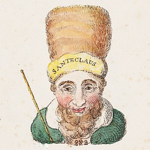Old Santeclaus with Much Delight - Illustration to verse 2