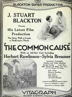 <i>The Common Cause</i> 1919 film by J. Stuart Blackton
