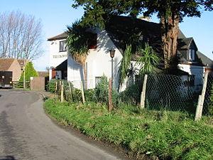 Finglesham - Image: The Crown public house, Finglesham